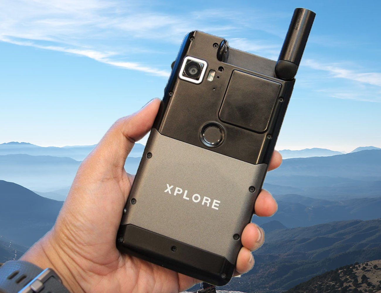 Xplore X7 Rugged Android Satellite Smartphone