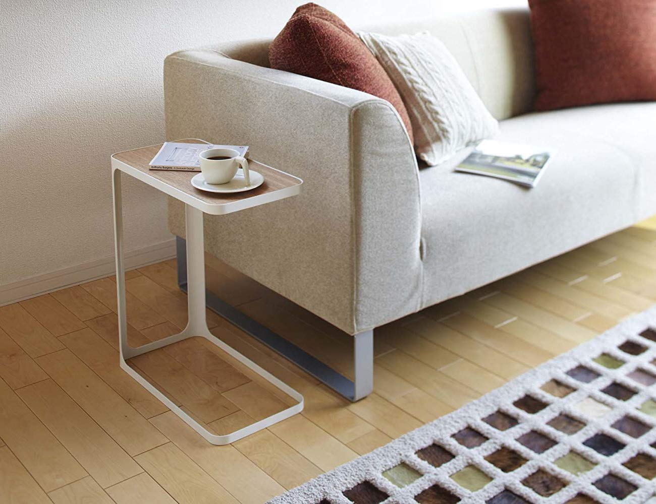 YAMAZAKI Compact Tower Side Table