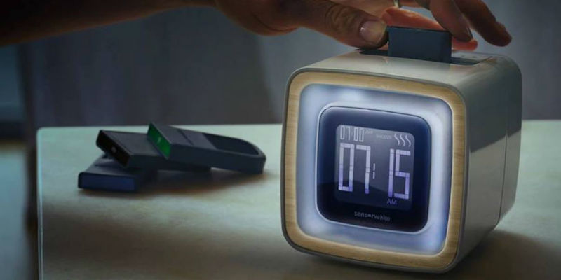 Trio Smell-Based Alarm Clock