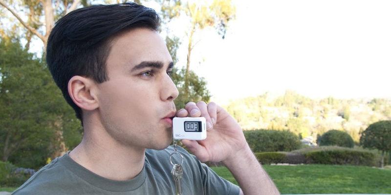 Portable Keychain Breathalyzer