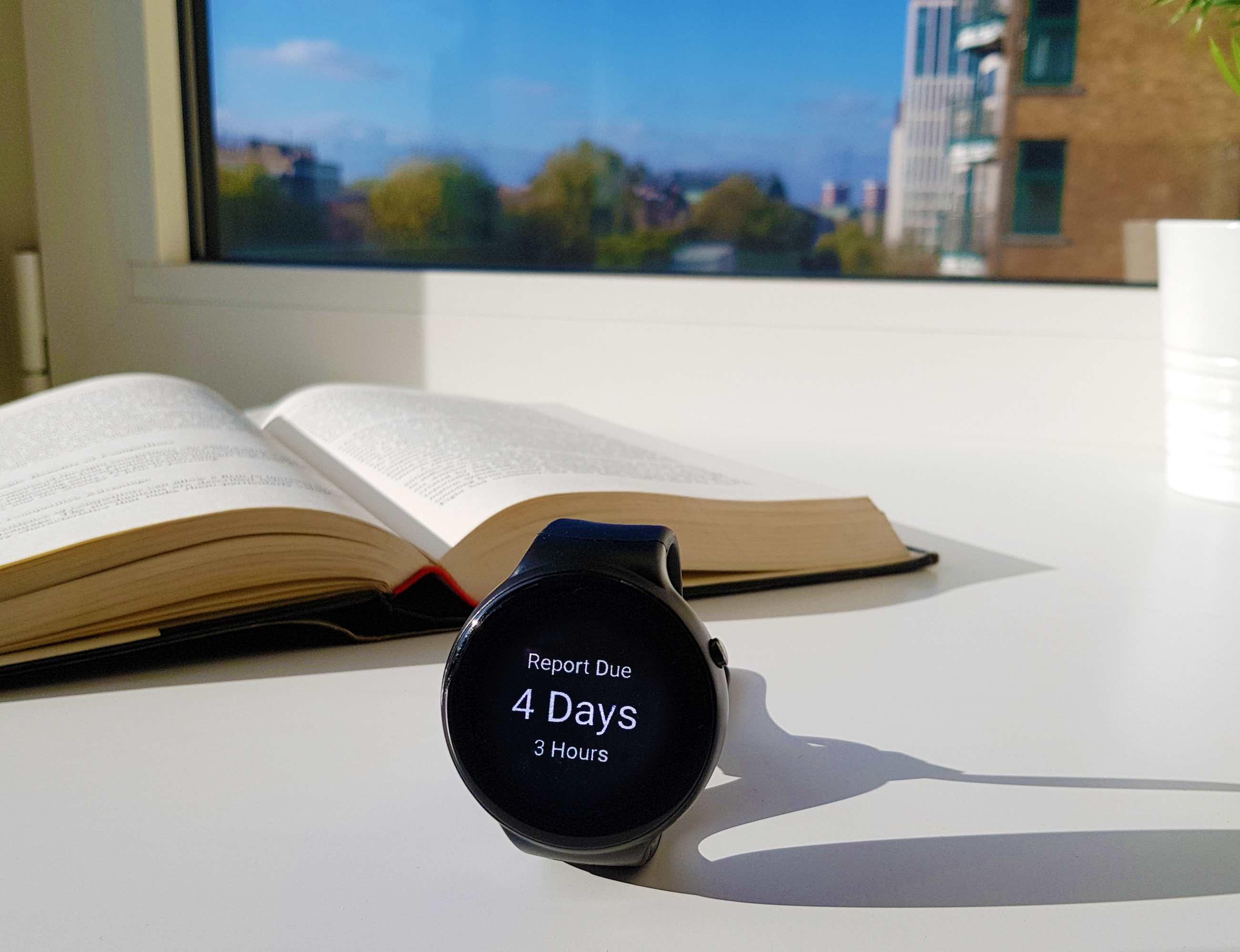 emit Minimalist Productivity Smartwatch