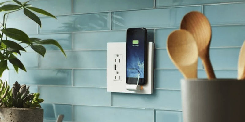 Wireless Charger Wall Plate