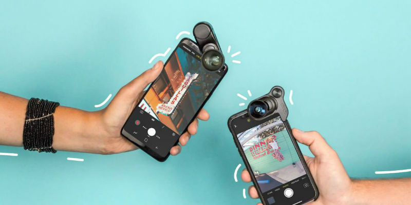 Multi-Device Mobile Lens Clip