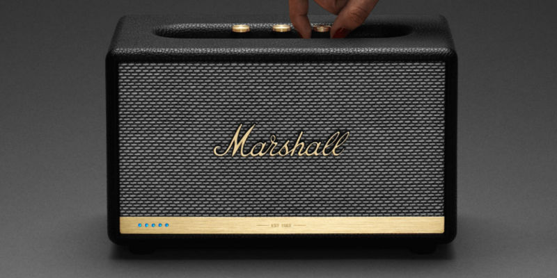 Marshall Acton II Voice Alexa Speaker