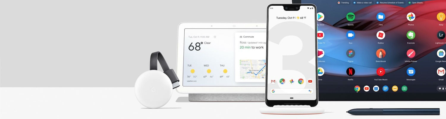 Made by Google 2018 Highlights – Pixel 3, Pixel Slate, and Google Home Hub
