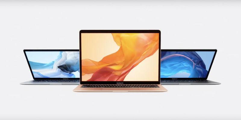 MacBook Air new display