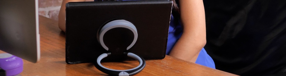 Hate holding your iPad? Handle Plus is the solution