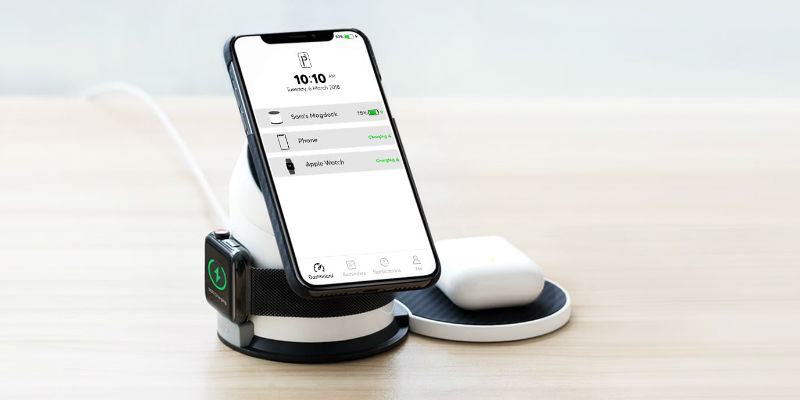 All-in-One Magnetic Wireless Charging Dock