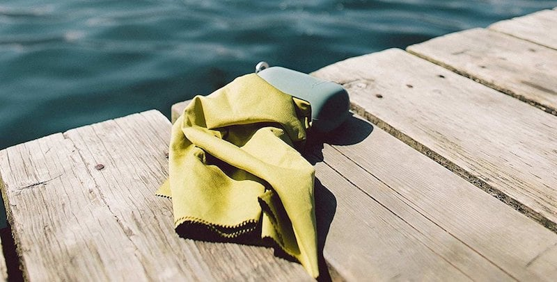Matador NanoDry Compact Nanofiber Towel - 20 Gifts for avid travelers