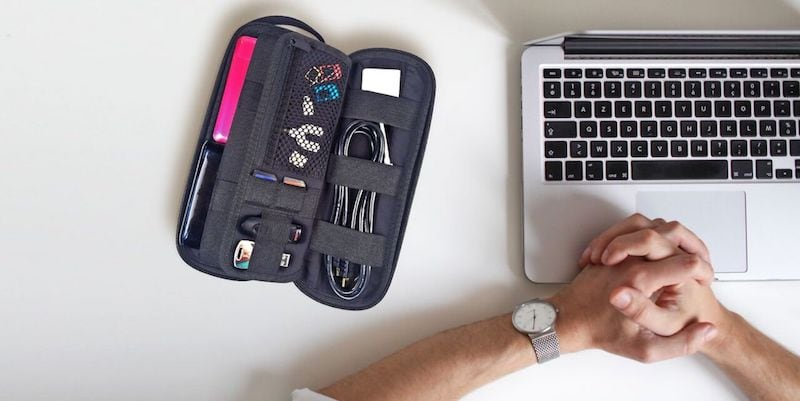 Side by Side Power Packer Slim Organizer - 20 Gifts for avid travelers