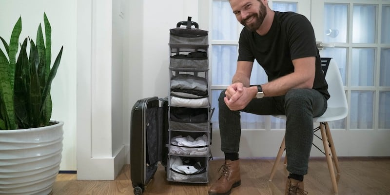 Solgaard Lifepack Carry-On Closet - 20 Gifts for avid travelers