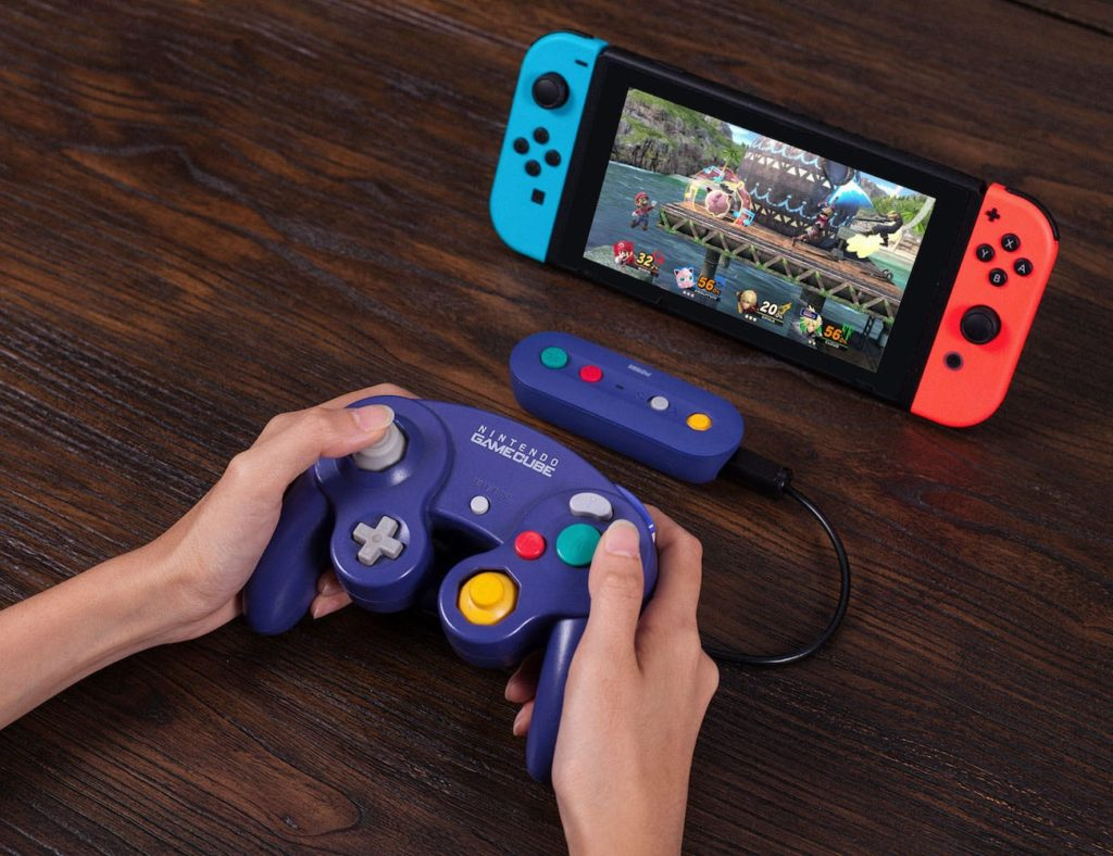 8Bitdo+GBros.+Wireless+Nintendo+Switch+Adapter