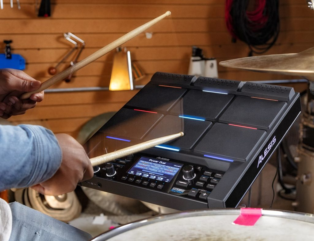 Alesis+Strike+MultiPad+Electronic+Percussion+Pad