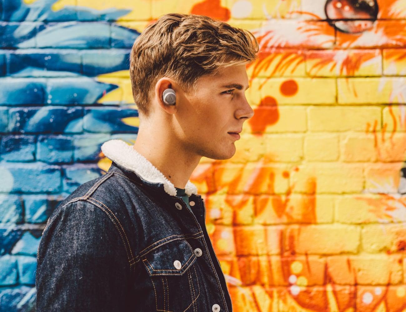 Audio-Technica ATH-CKR7TW True Wireless In-Ear Headphones