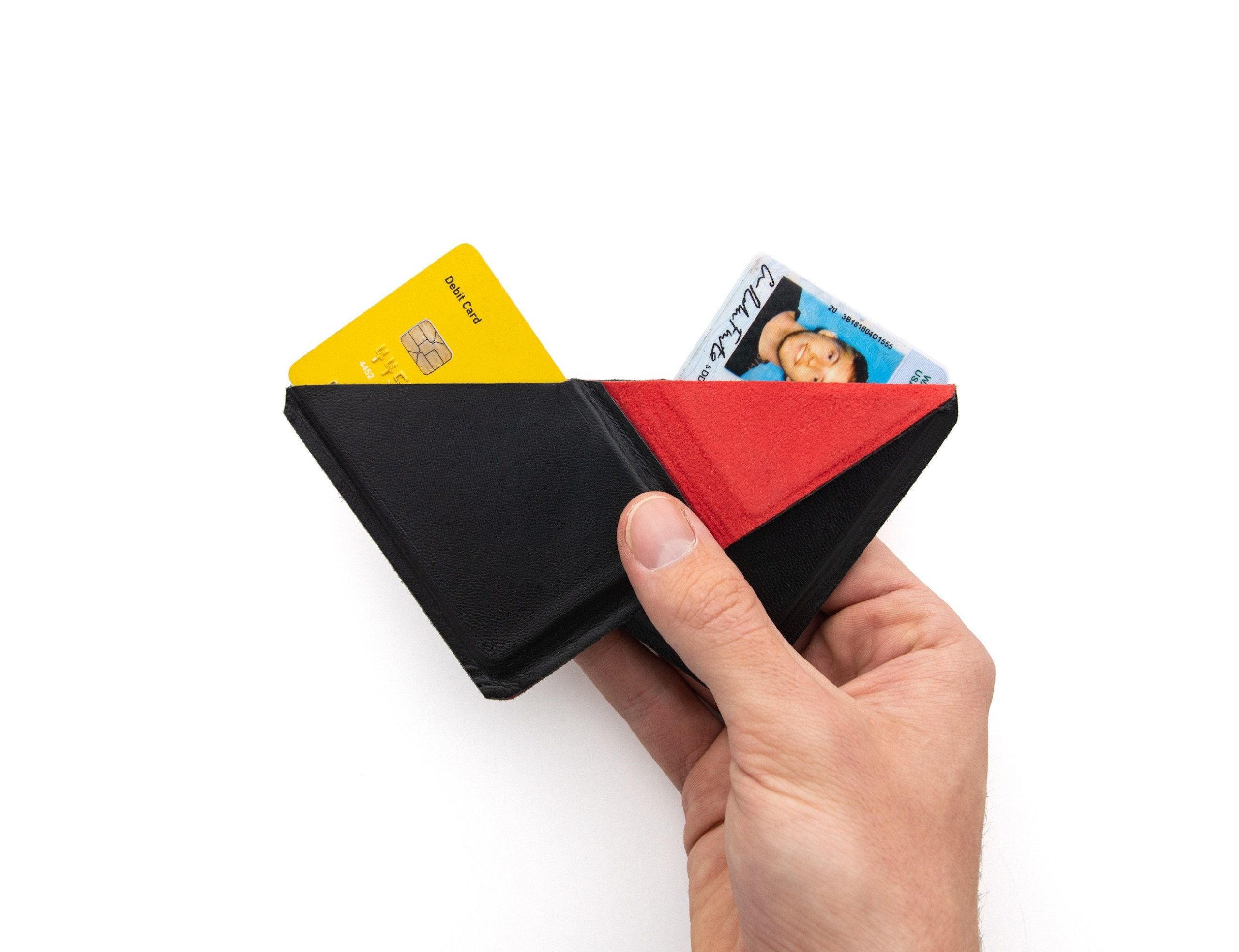 Bodega Flip-Fold Slim Leather Wallet