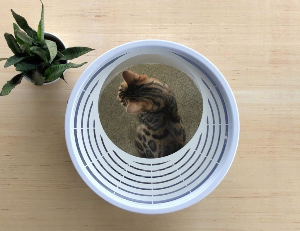 Boxscoop+2.0+Quick+Cleaning+Litter+Box