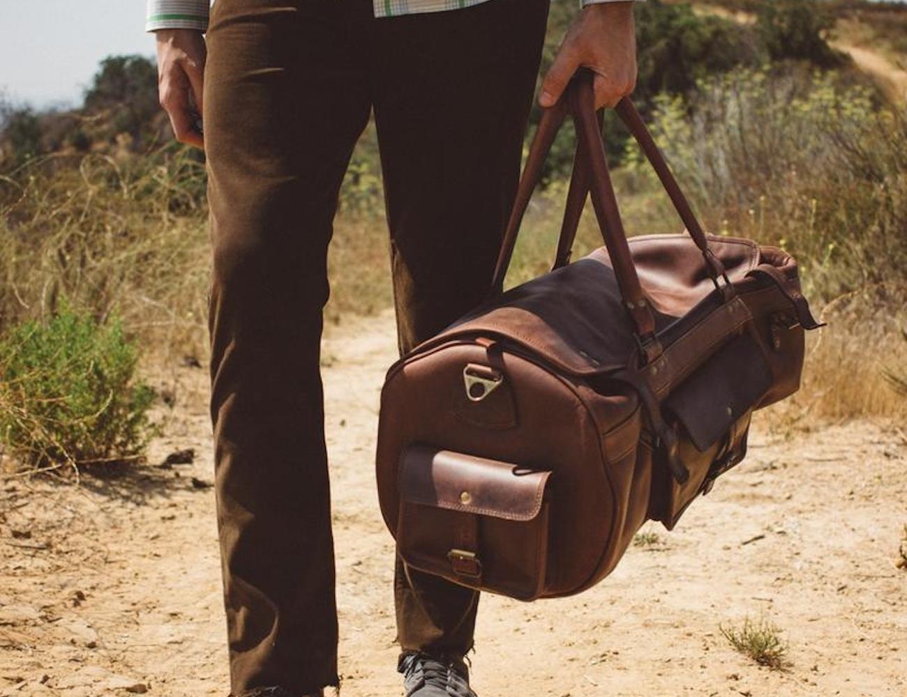 Buffalo Jackson Roosevelt Travel Duffel Bag