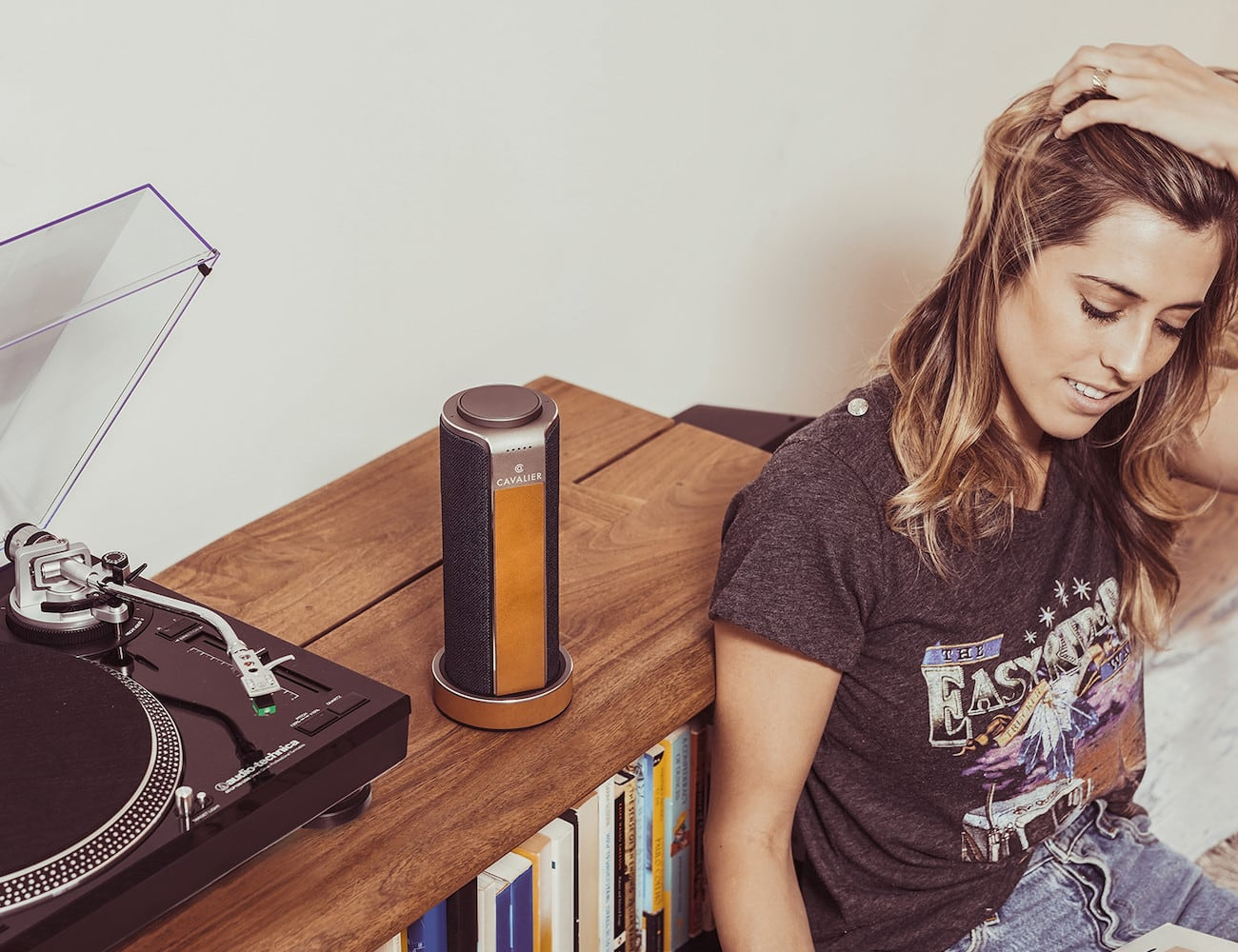 Cavalier Maverick Portable Alexa Speaker System gives you hands-free control loading=