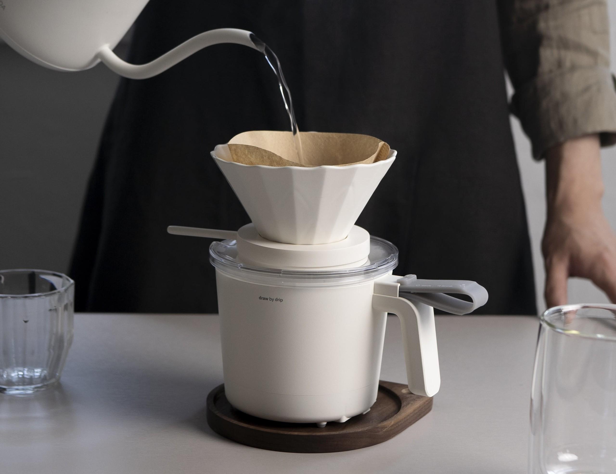 Draw by Drip Coffee Server