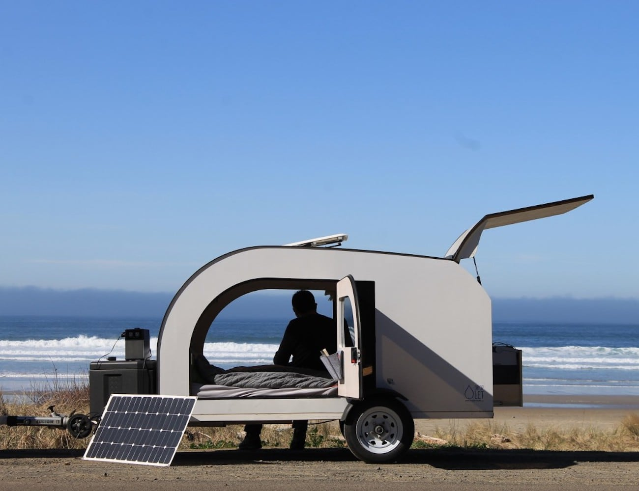 Droplet Teardrop Camping Trailer