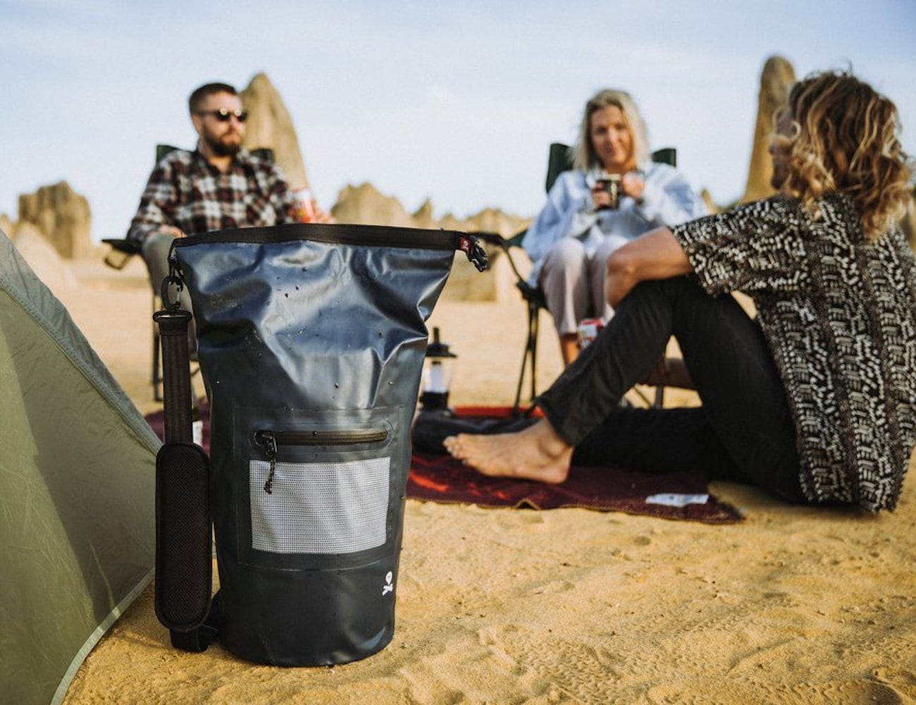 Ghost Outdoors Undercover Cool Bag also doubles as a floatation device