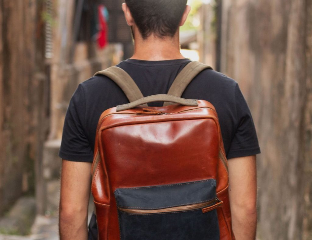 Jacques+777+Premium+Customizable+Leather+Backpack