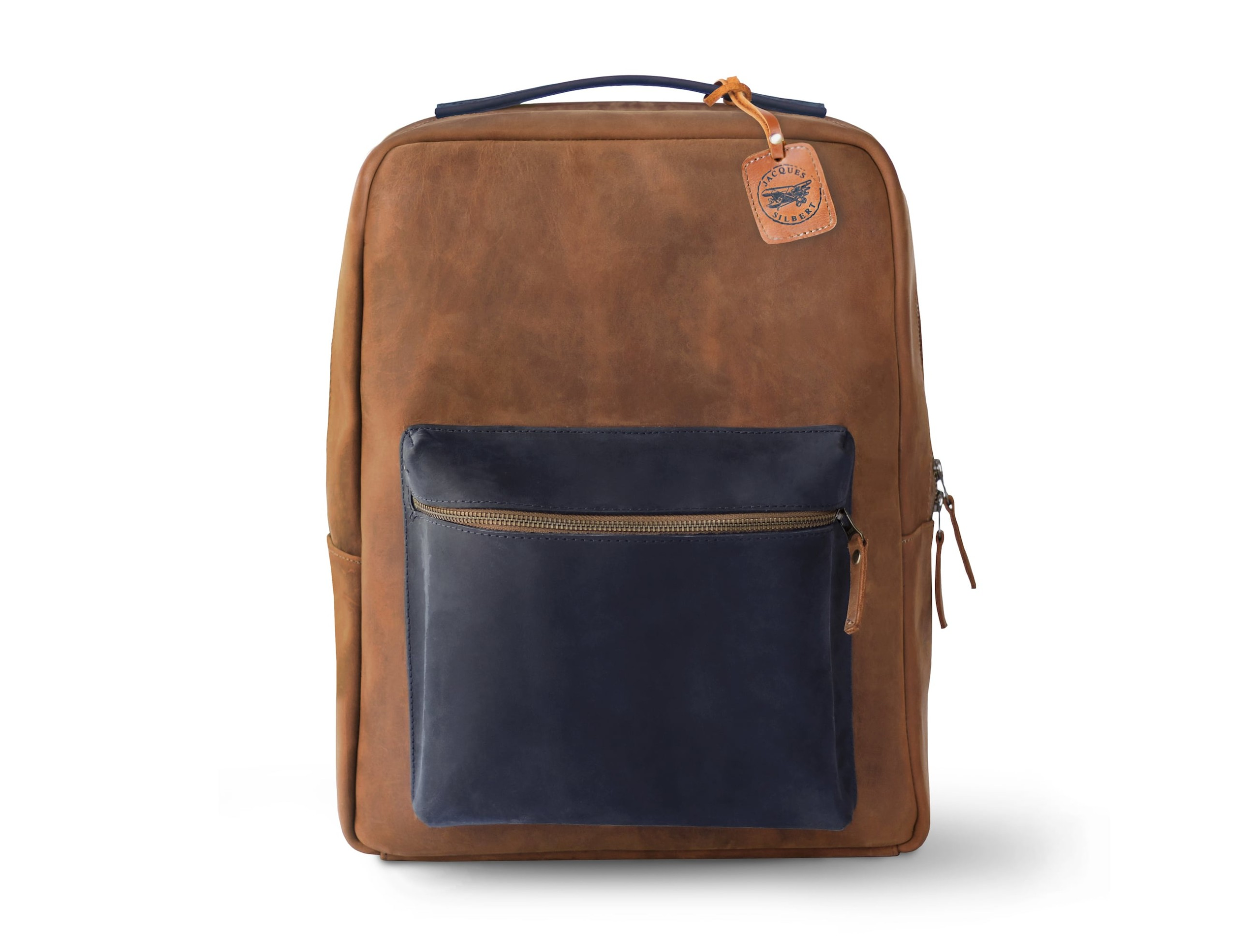 Jacques 777 Premium Customizable Leather Backpack