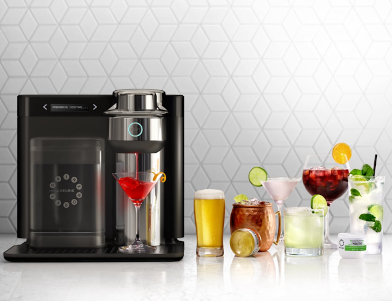Keurig Drinkworks Drinkmaker Home Bar Machine