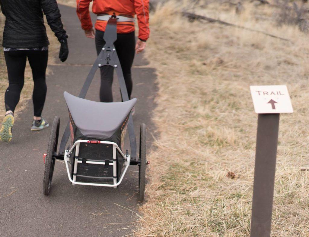 KidRunner+High-Performance+Jogging+Stroller+offers+a+total+body+workout