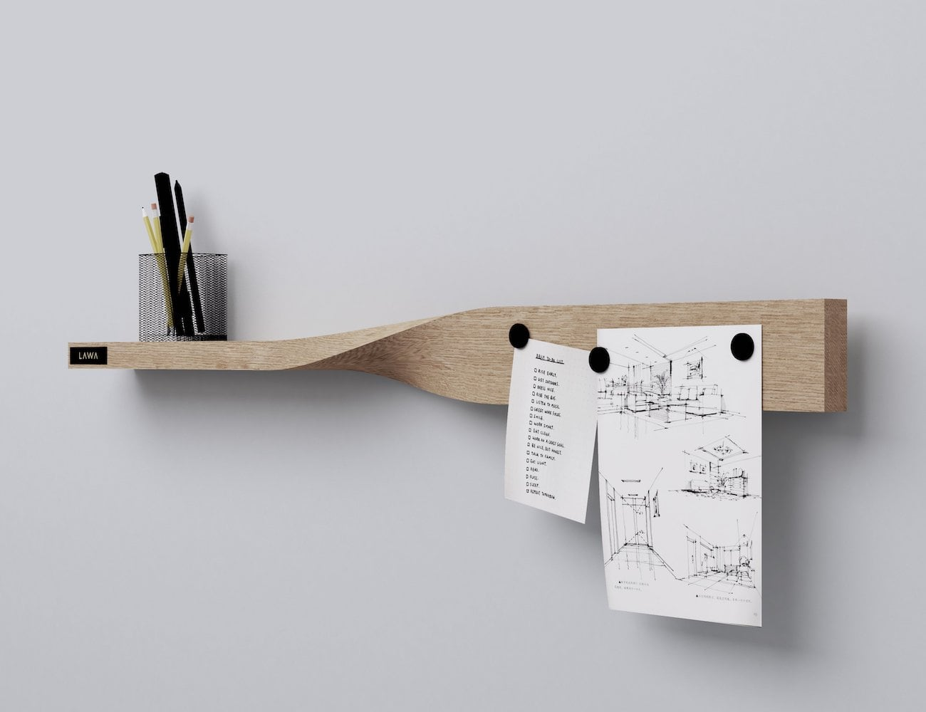 LAWA Design Multipurpose Twist Shelf