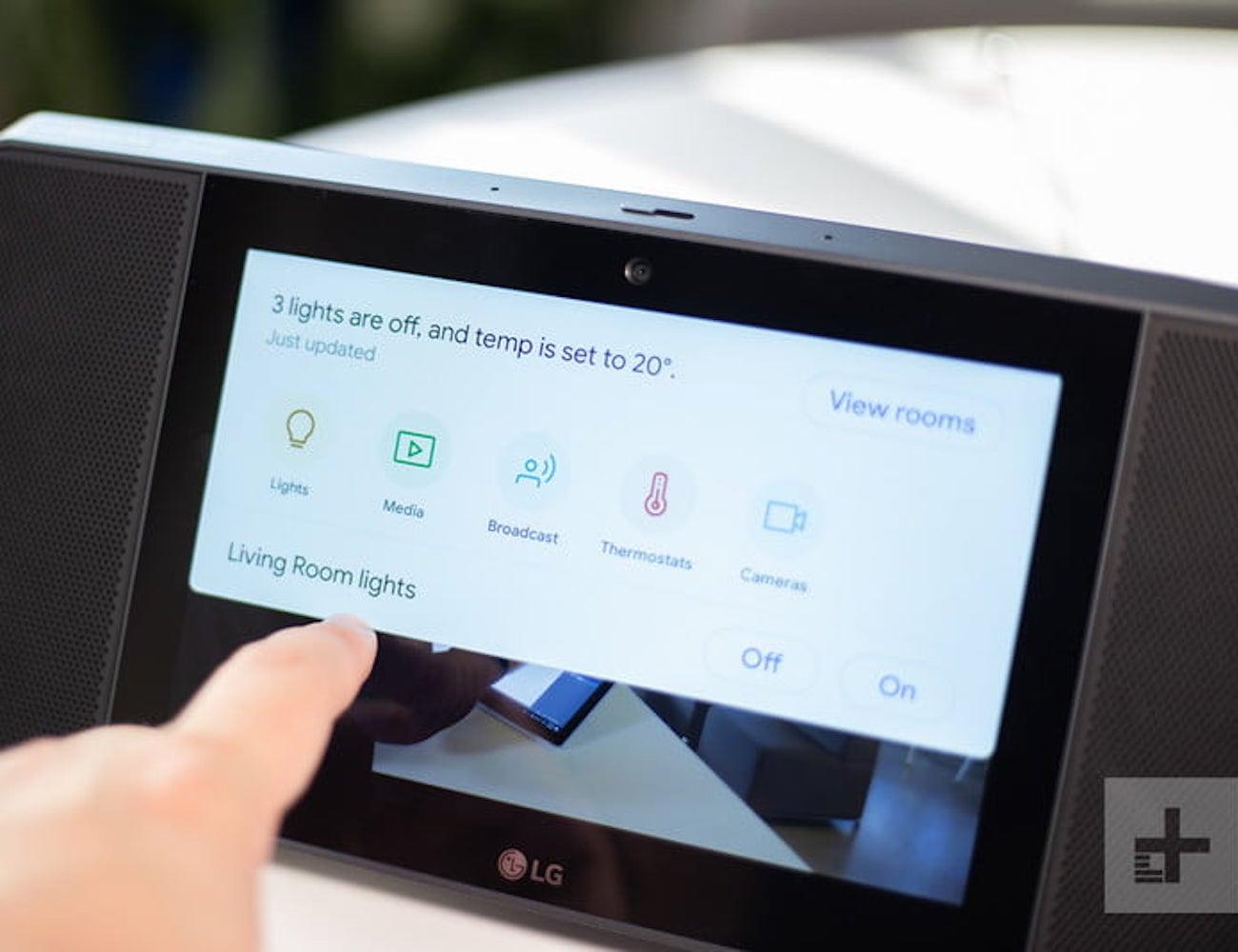 LG XBOOM AI ThinQ WK9 Smart Display Speaker