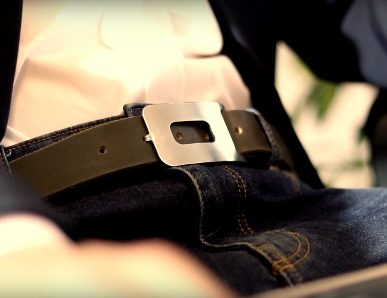 Linoxis Customizable Leather Belt