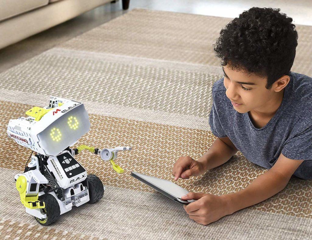 Kids Corner Gadget Flow Relays Electronics In Meccano Erector Max Interactive Ai Smartbot