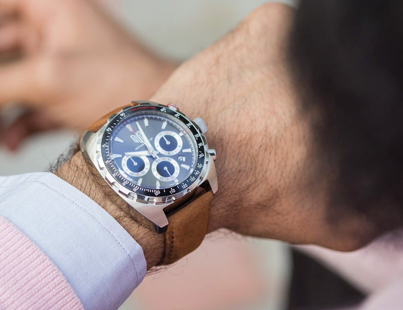 Michael Bans Exclusive 1 Luxury Chronograph Watch