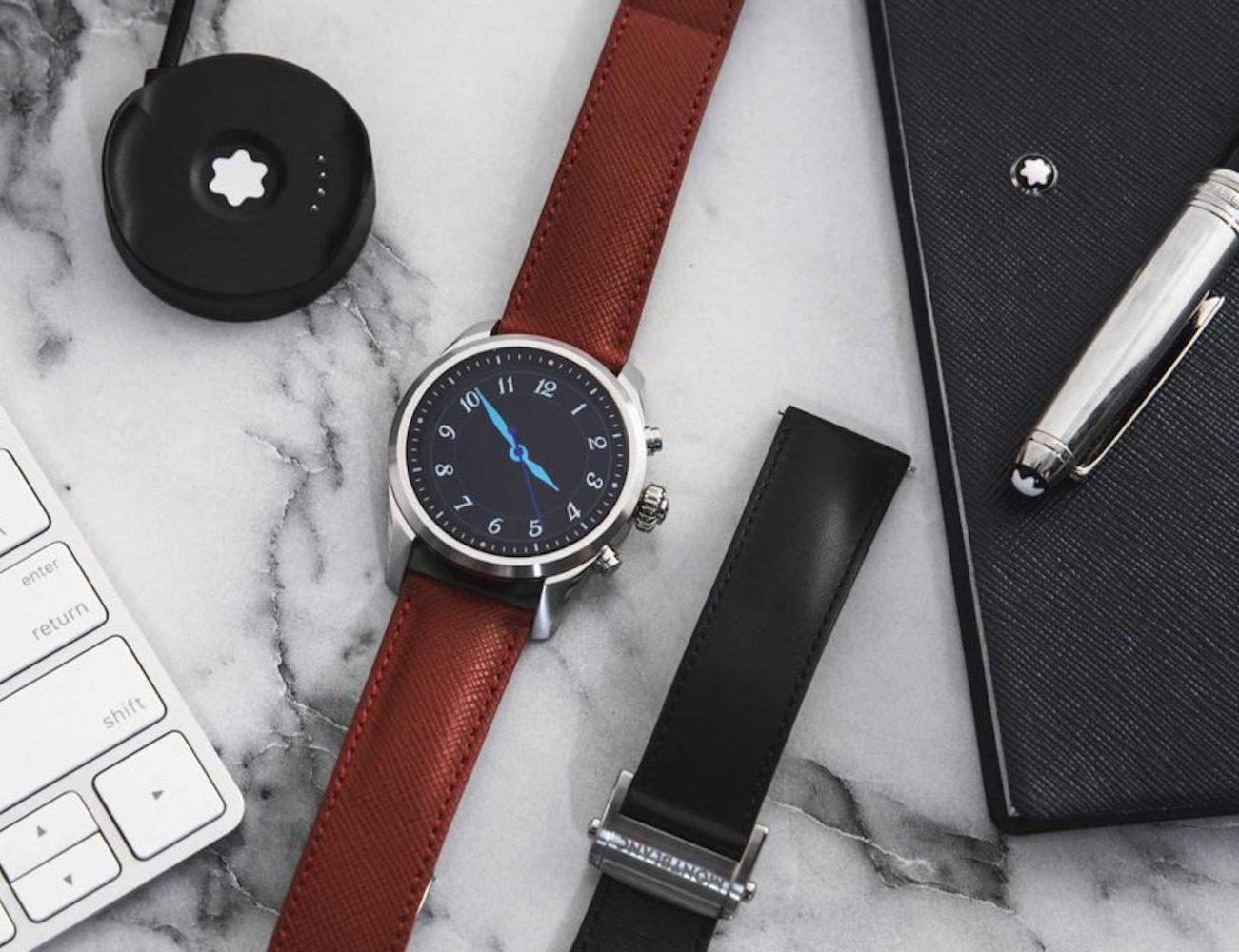 Montblanc Summit 2 Luxury Travel Smartwatch