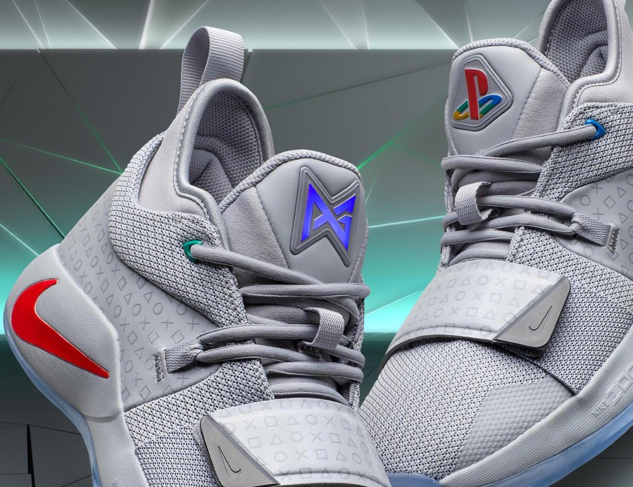 Nike PG 2.5 x PlayStation Colorway Footwear