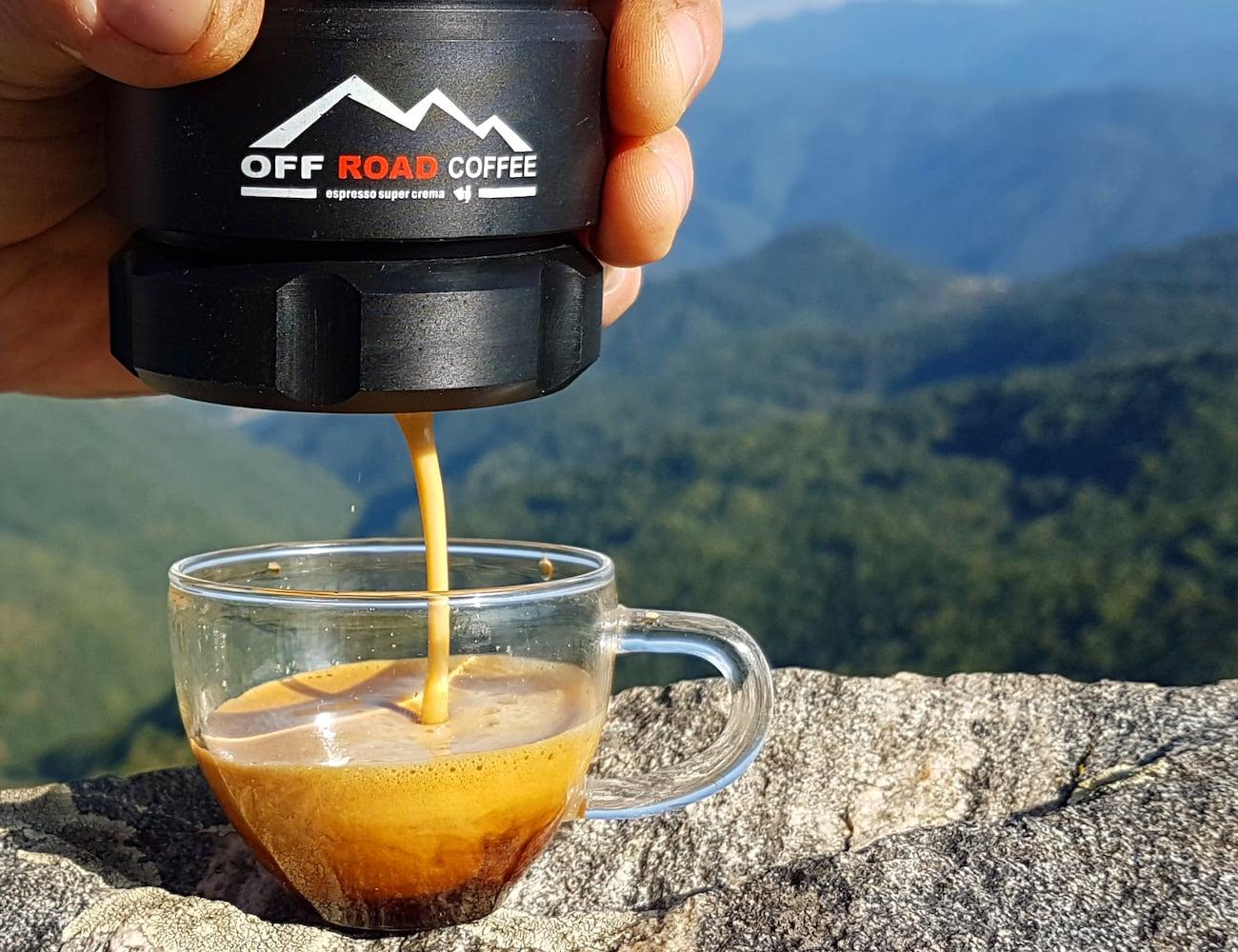 Offroad Coffee Portable Magnetic Espresso Maker