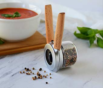 Ortwo+One-Handed+Pepper+Mill