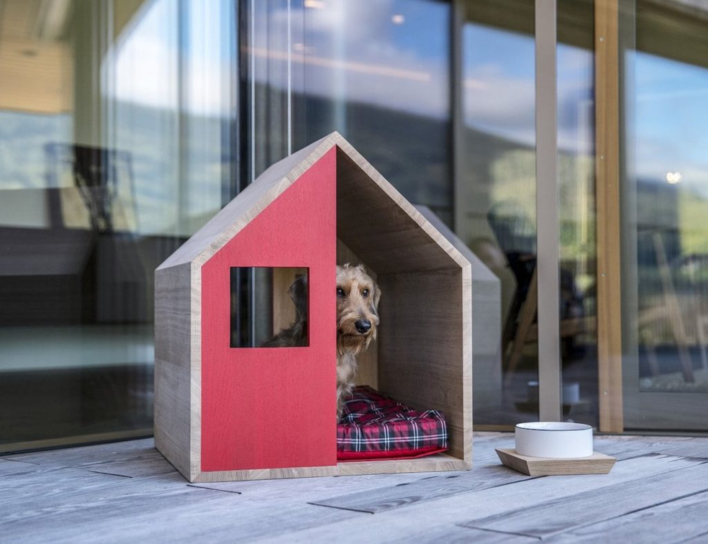 Poldo+Dog+Couture+POLDHAUS+Wooden+Dog+Kennel