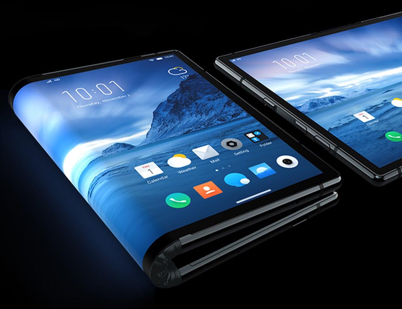 Royole FlexPai Commercial Foldable Smartphone