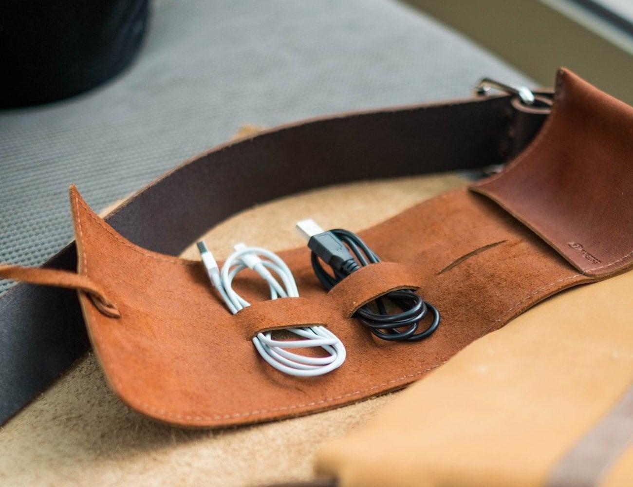 Rustico Sidekick Leather Cord Wrap