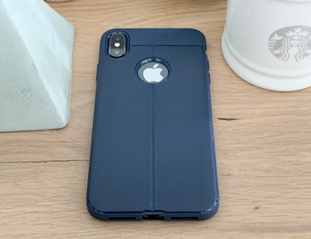 Silicone iPhone Xs Back Cover loading=