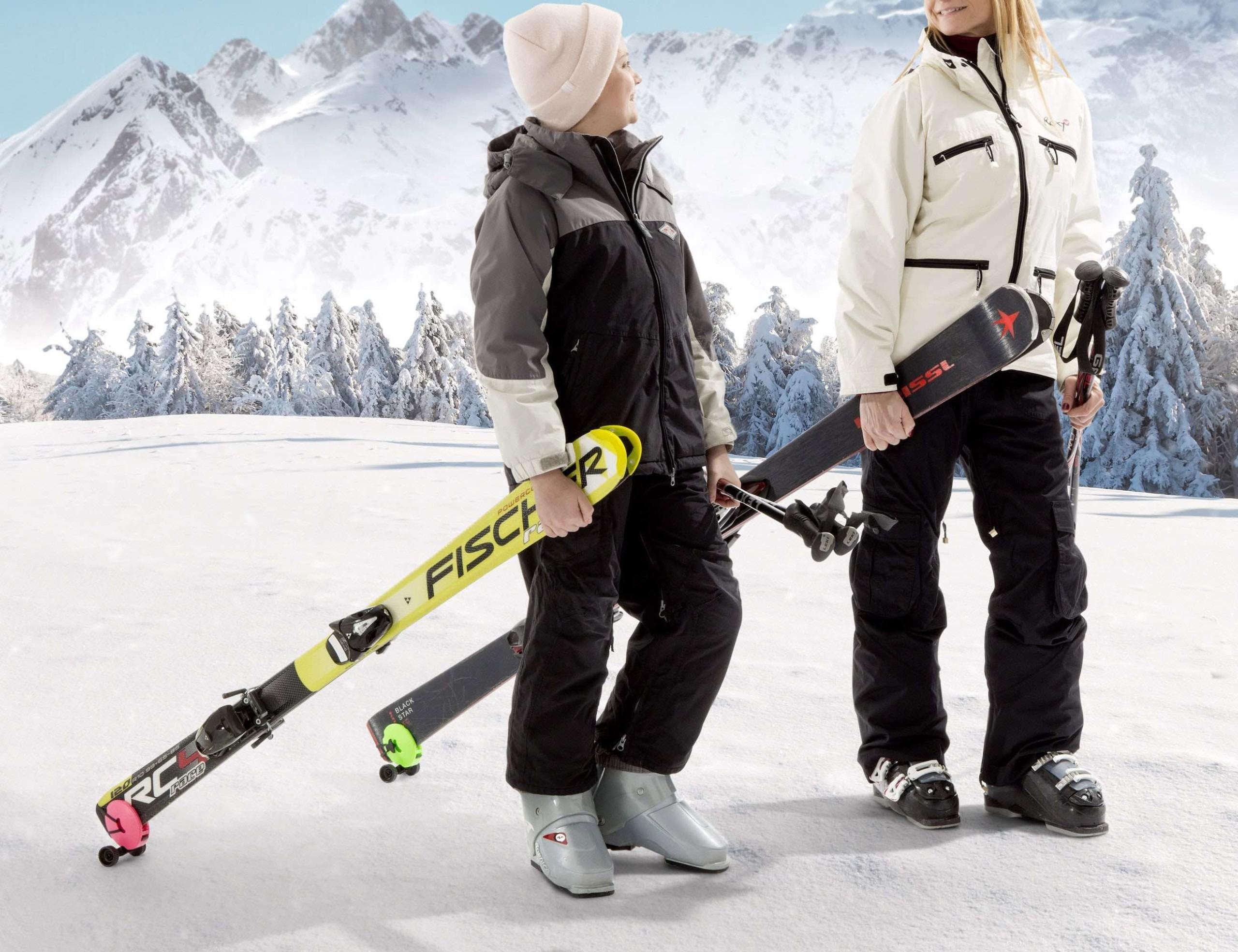 Skiddi Mini Ski Trolley