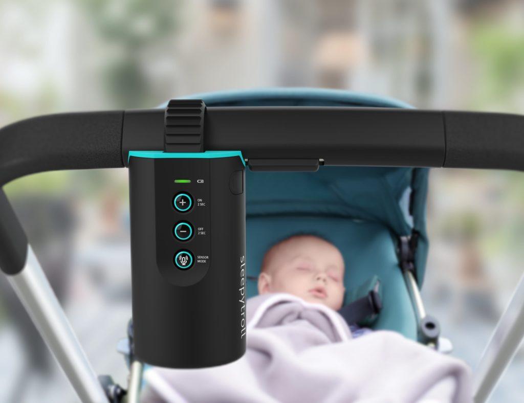 Sleepytroll+Sensor+Controlled+Baby+Rocker