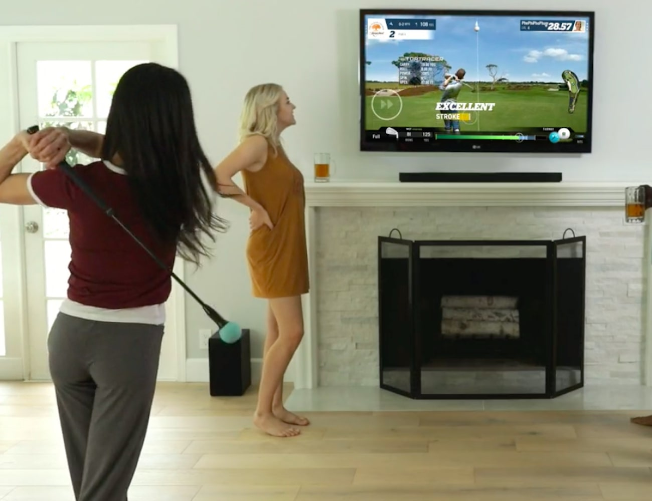 Topgolf Phigolf Mobile WGT Golf Simulator