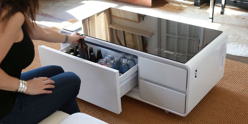 Sobro Cooler Coffee Table - Truly unique furniture to give your home a modern makeover