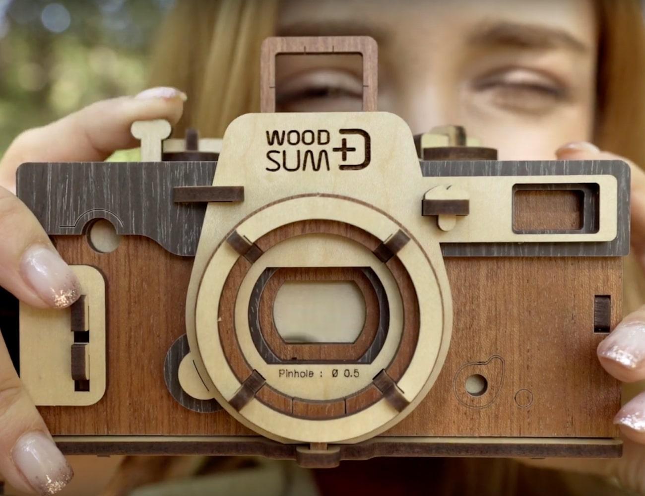 Woodsum DIY Wooden Assembly Pinhole Camera