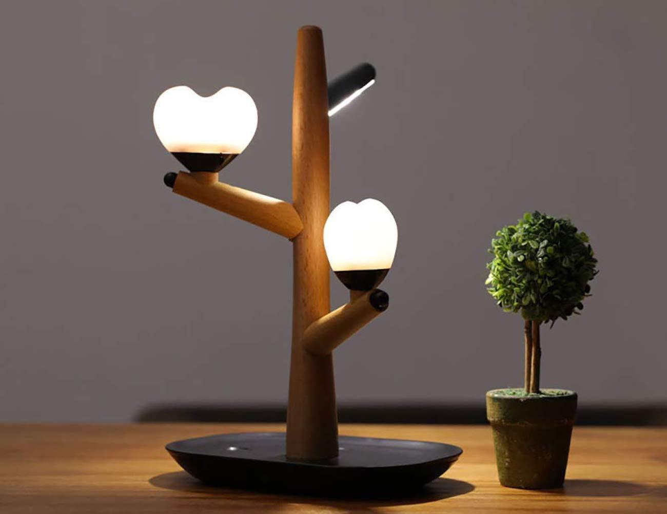 YTBLF Intelligent LED Sensor Light Heart Tree