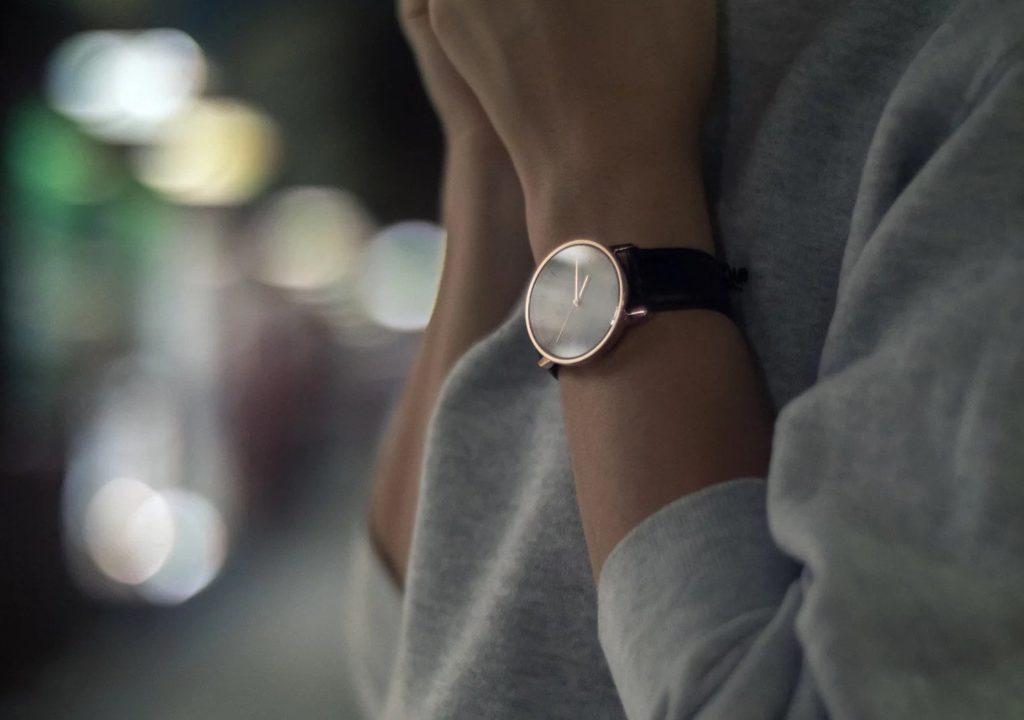 ZEITST%C3%9CCK+Semi-Mechanical+Minimalist+Watches