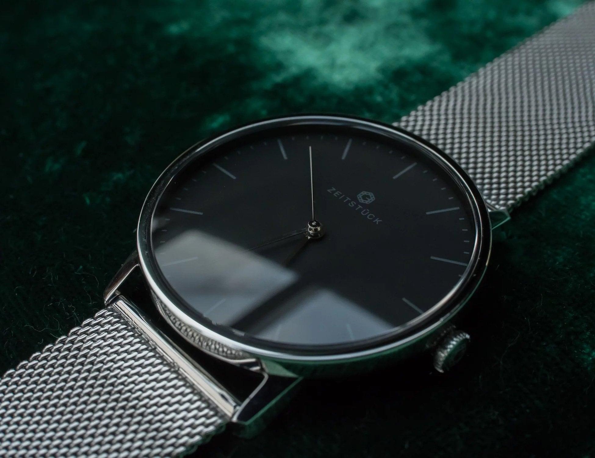 ZEITSTÜCK Semi-Mechanical Minimalist Watches